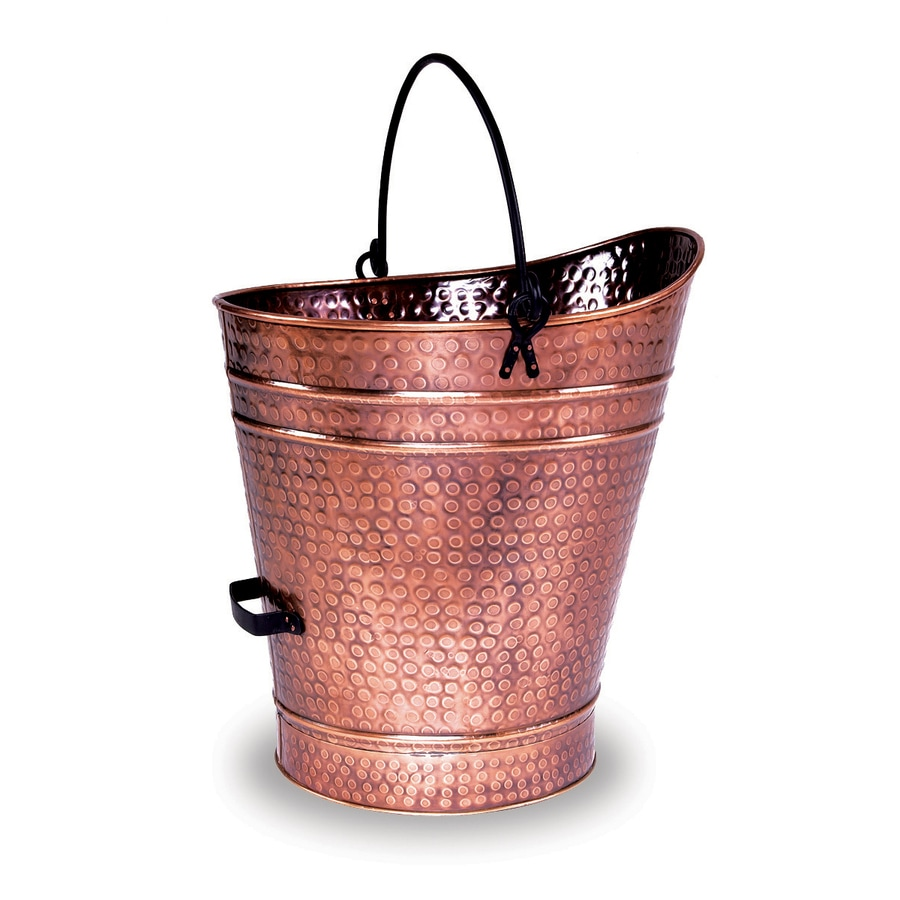ACHLA Designs Antique Copper Pellet Bucket