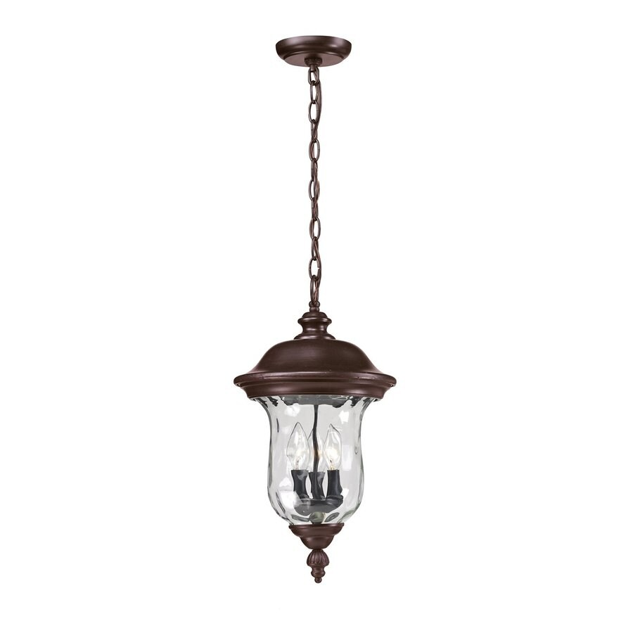 Z-Lite Armstrong 22.519-in Bronze Hardwired Outdoor Pendant Light