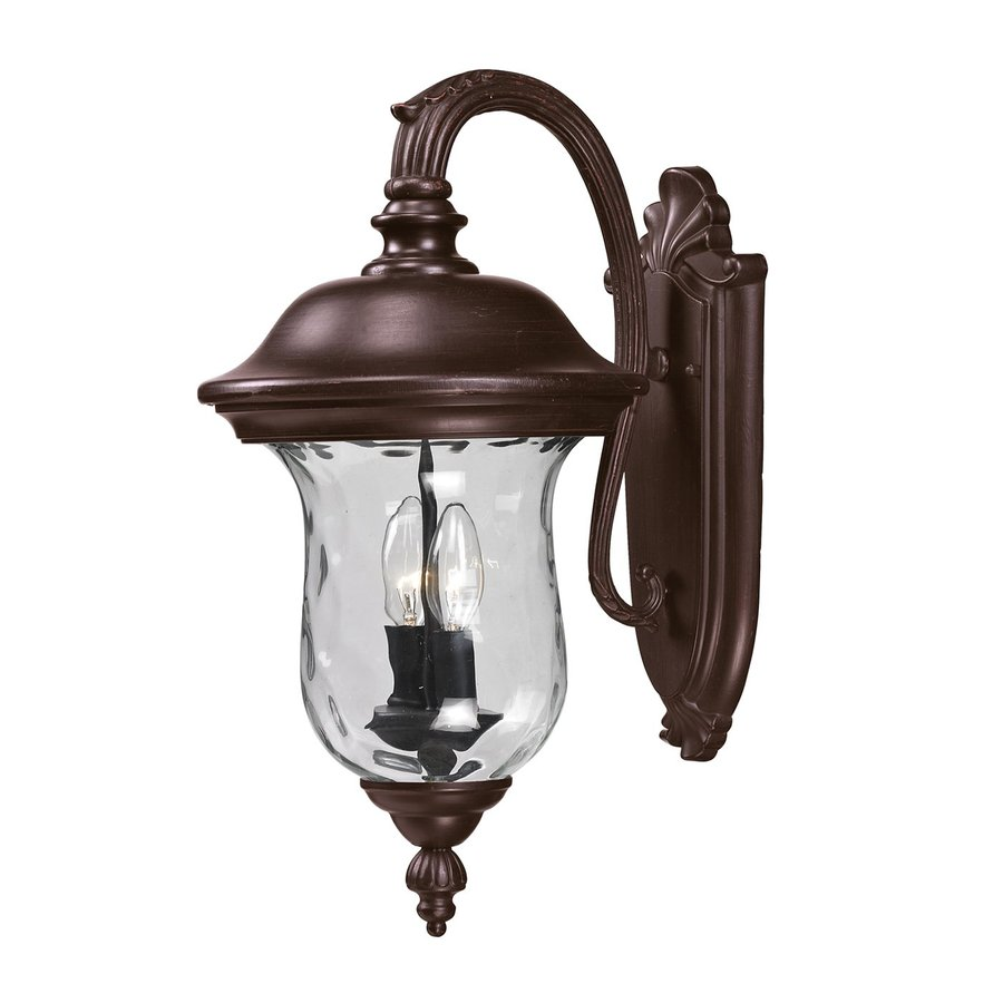 Z-Lite Armstrong 19.5-in H Bronze Outdoor Wall Light