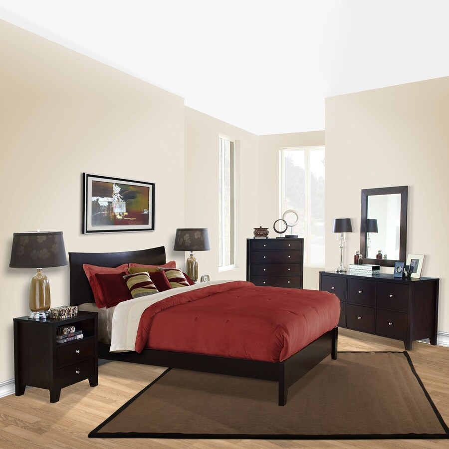 Shop Lifestyle Solutions Canova Cappuccino King Bedroom