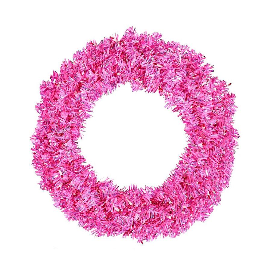Vickerman 60-in Tinsel Artificial Christmas Wreath