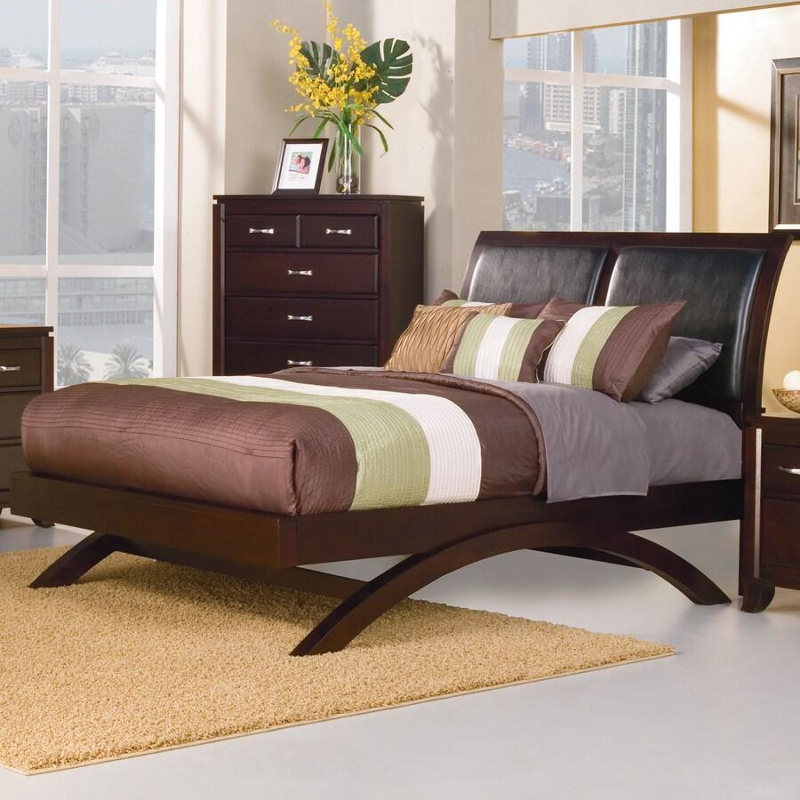Homelegance Astrid Espresso Queen Platform Bed