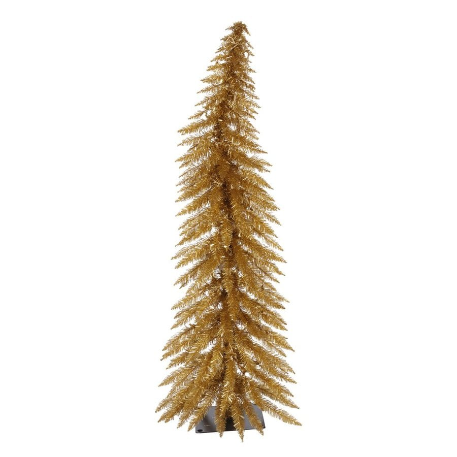 Vickerman 2.5-ft Pre-Lit Whimsical Slim Artificial Christmas Tree with White Incandescent Lights