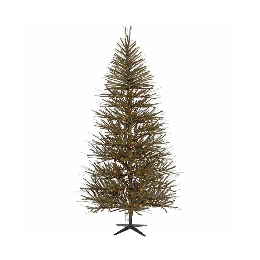 Vickerman 6-ft Pre-Lit Vienna Twig Artificial Christmas Tree with White Incandescent Lights