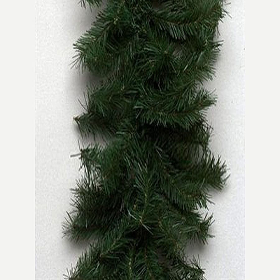 Vickerman 100-ft Indoor/Outdoor Canadian Pine Artificial Christmas Garland (Unlit)