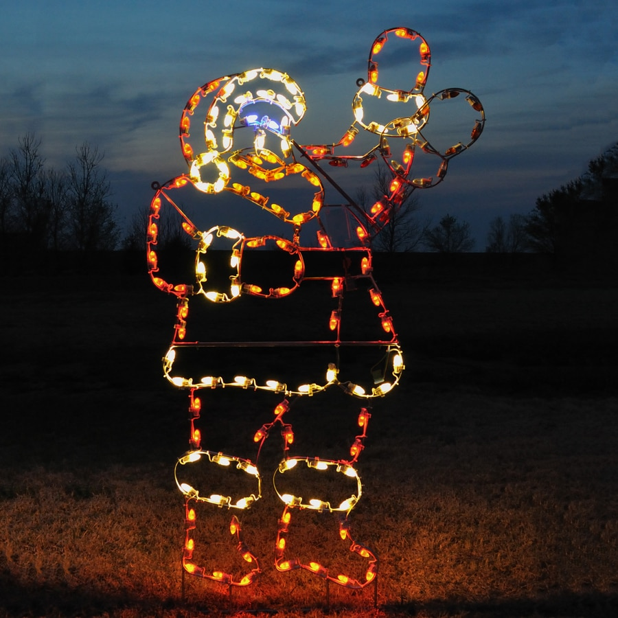 Shop Holiday Lighting Specialists 7.5-ft Animated Waving