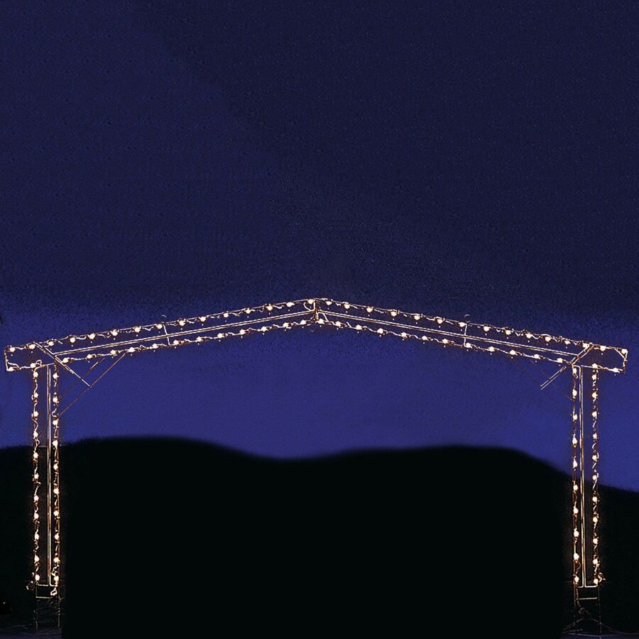 Holiday Lighting Specialists 4.1-ft Small Stable Outdoor Christmas Decoration with Incandescent White Lights