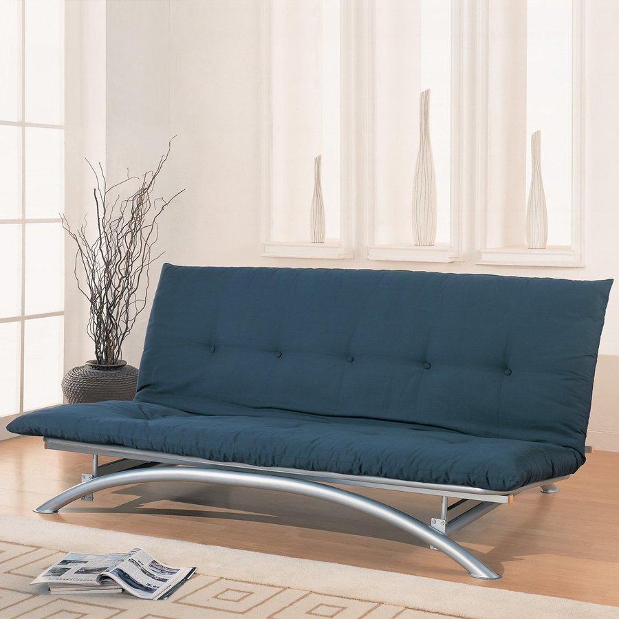 Coaster Fine Furniture Silver Futon