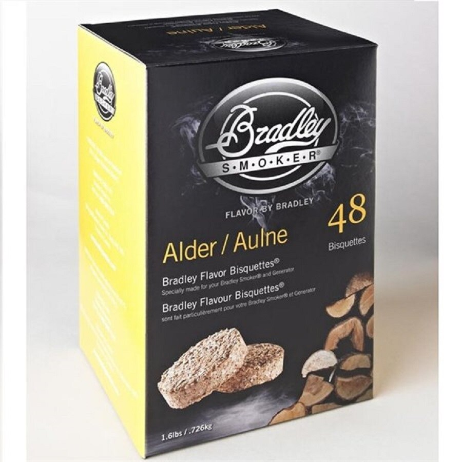 Bradley 48-Pack 1.6-lbs Alder Wood Chips