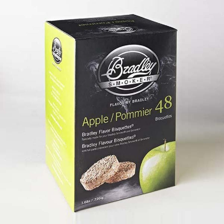 Bradley 48-Pack 1.6-lbs Apple Wood Chips
