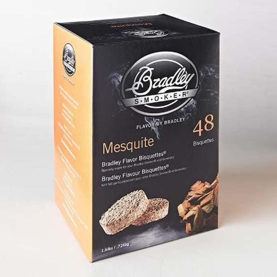 Bradley 48-Pack 1.6-lbs Mesquite Wood Chips