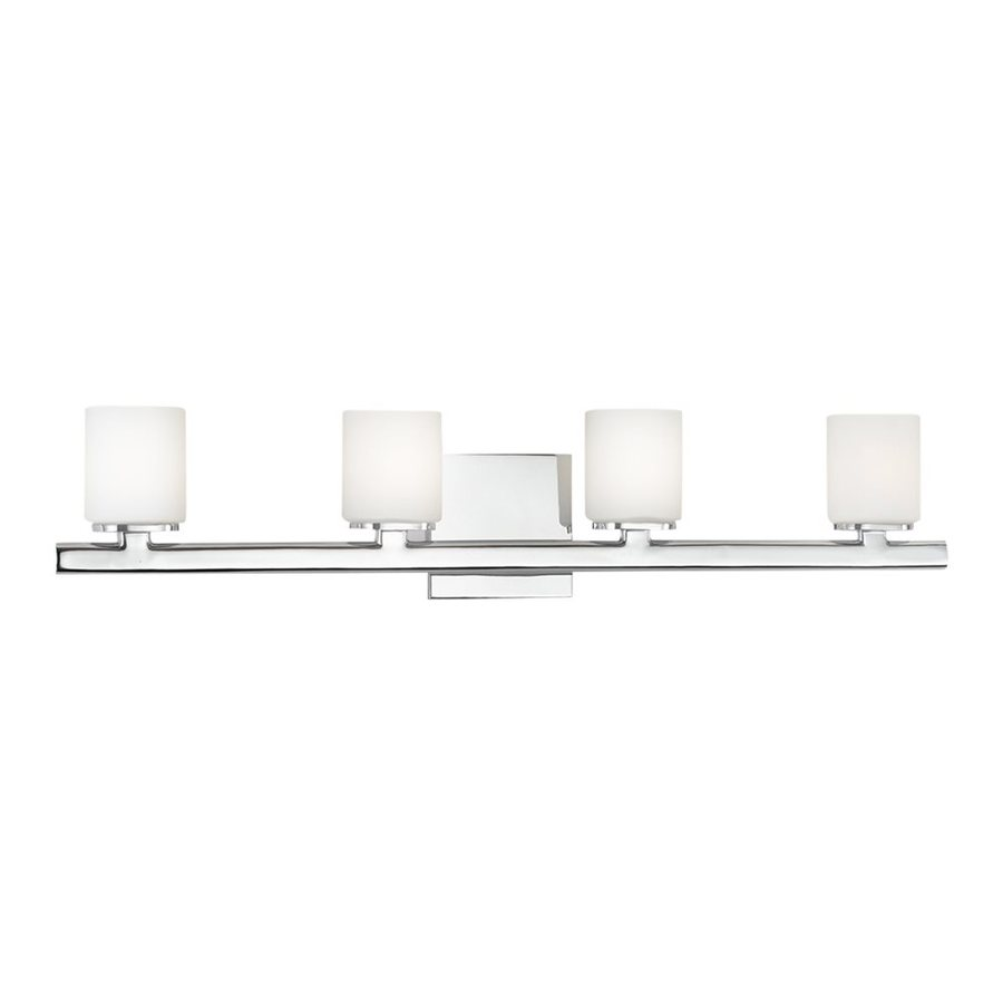 Eurofase 4-Light Marond Chrome Bathroom Vanity Light