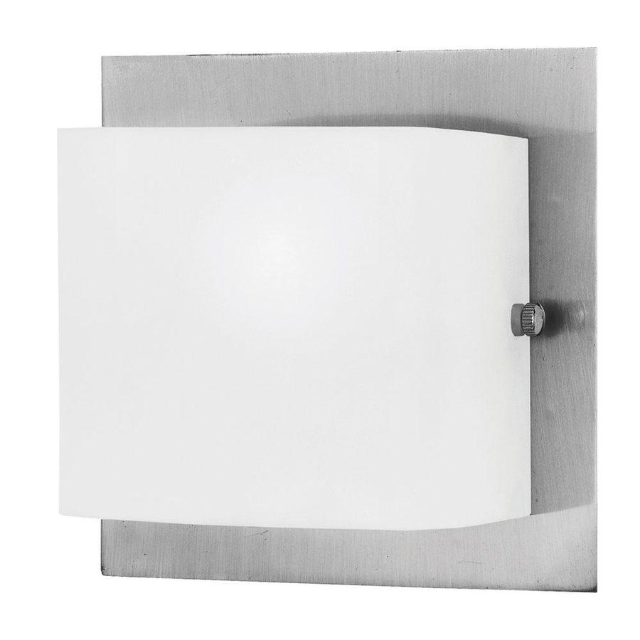 Eurofase Talo 5.13-in W 1-Light Satin Nickel Arm Wall Sconce