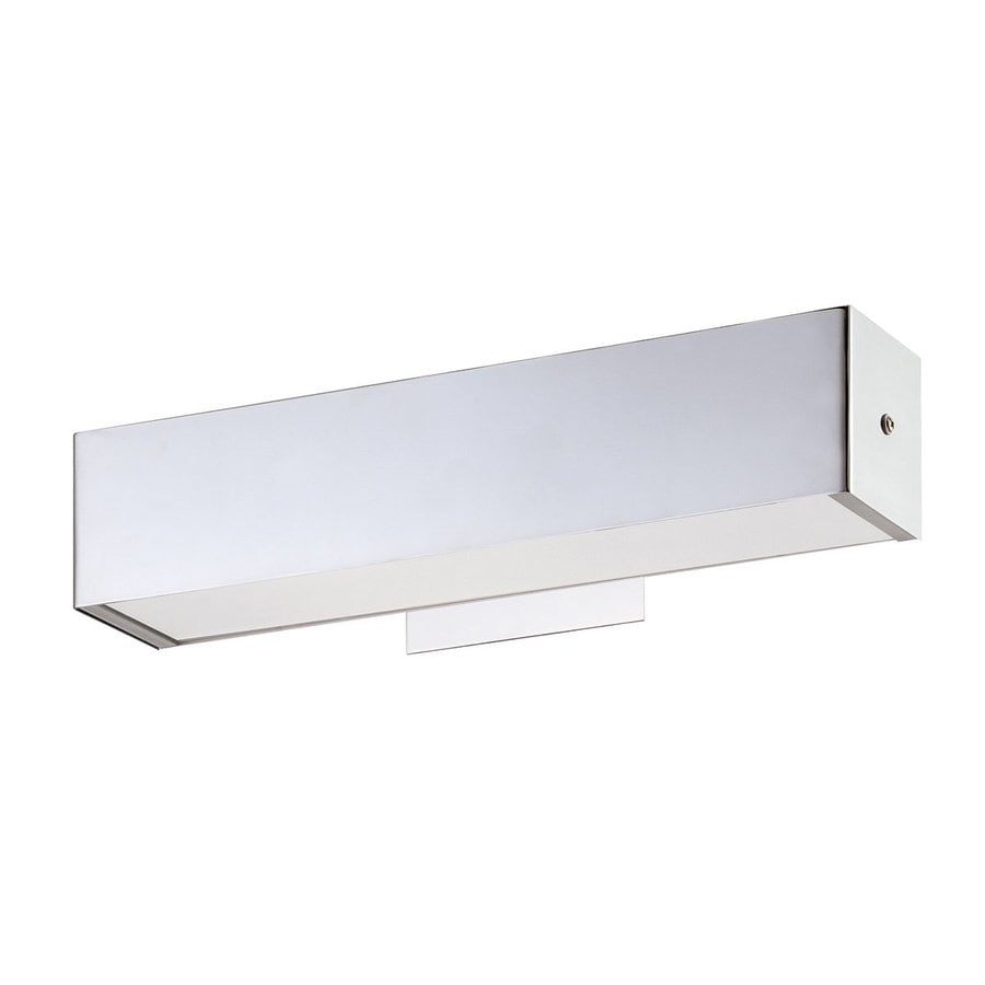 Eurofase Anello 15-in W 1-Light Chrome Arm Hardwired Wall Sconce