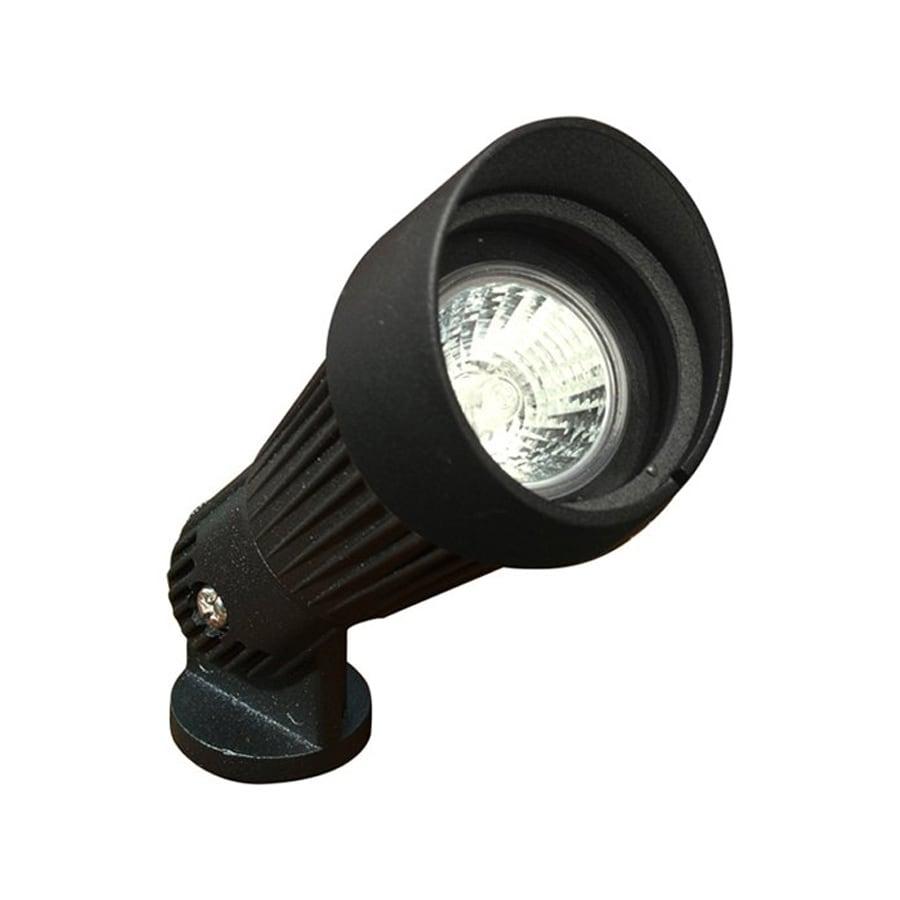 Shop dabmar lighting black low voltage 20 watt halogen for Low voltage light fixtures