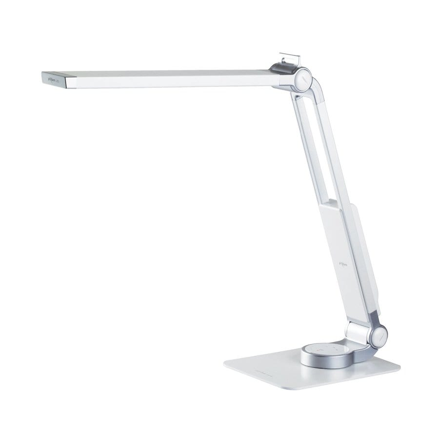 PlanLED TL Series 18.75-in Adjustable White Contemporary/Modern LED Touch Desk Lamp