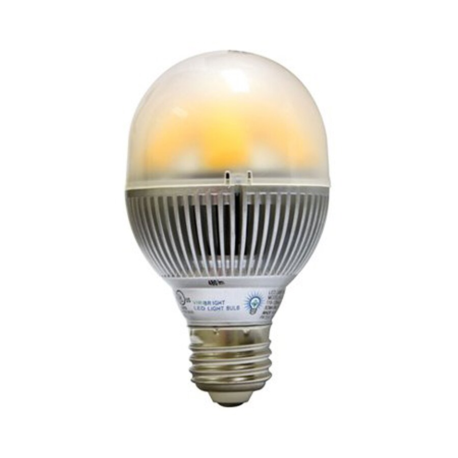 Viribright 8-Watt (40W Equivalent) A19 Medium Base Dimmable Warm White LED Bulb
