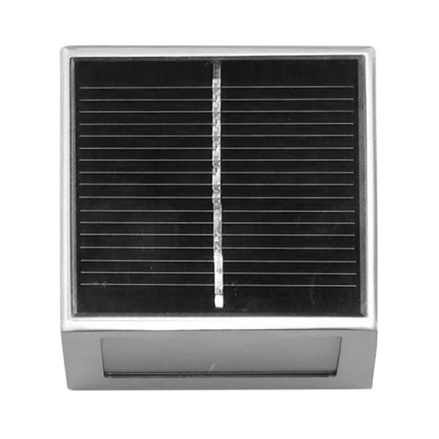 BTR Brushed Stainless Steel Solar-Powered LED Path Light