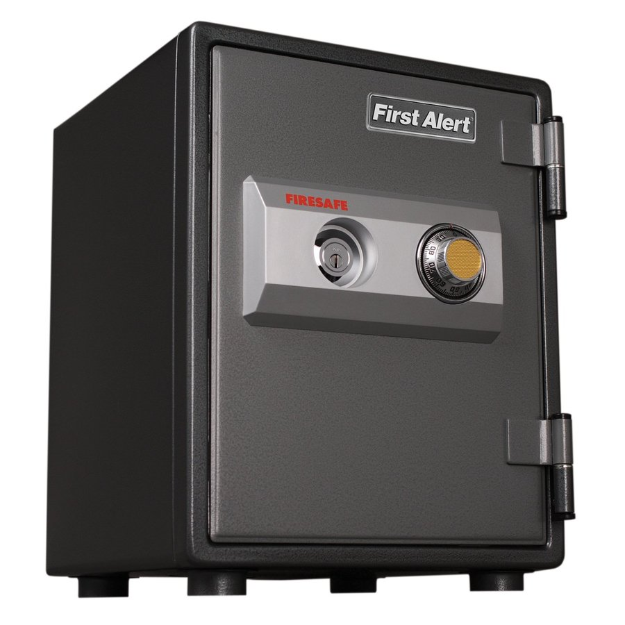 First Alert 0.8-cu ft Combination Lock Commercial/Residential Floor Safe