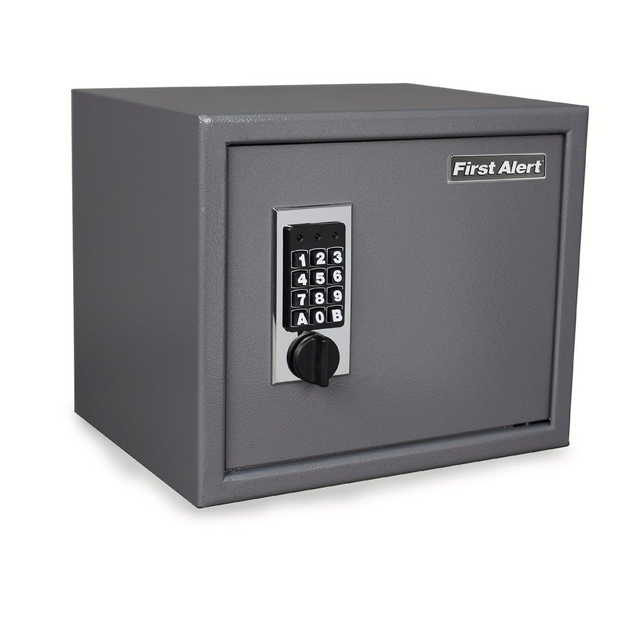 First Alert 1-cu ft Electronic/Keypad Residential Floor Safe