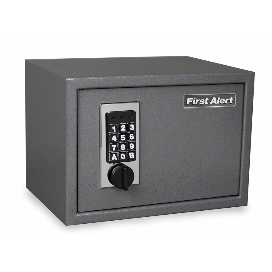 First Alert 0.62-cu ft Electronic/Keypad Residential Wall Safe