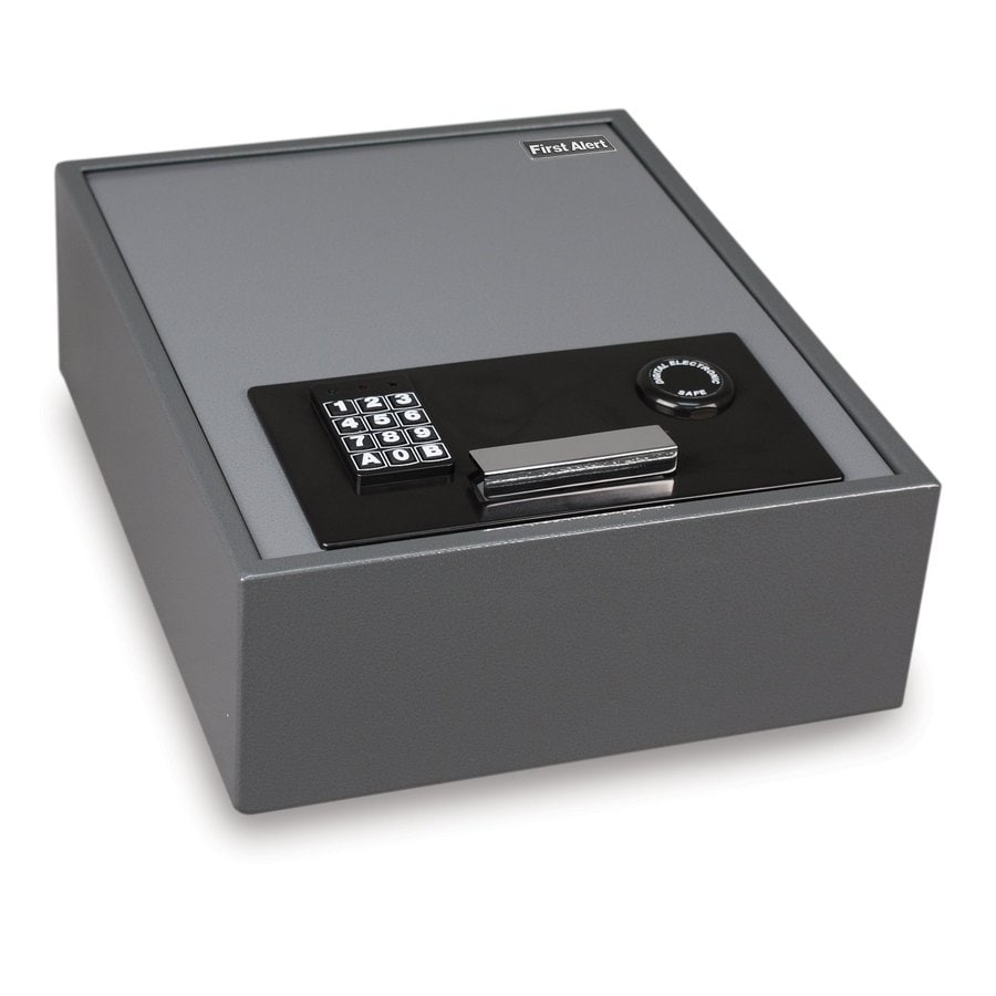First Alert 0.67-cu ft Electronic/Keypad Cash Box Safe