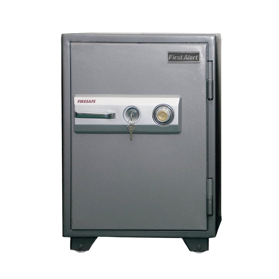 First Alert 2.7-cu ft Combination Lock Commercial/Residential Floor Safe