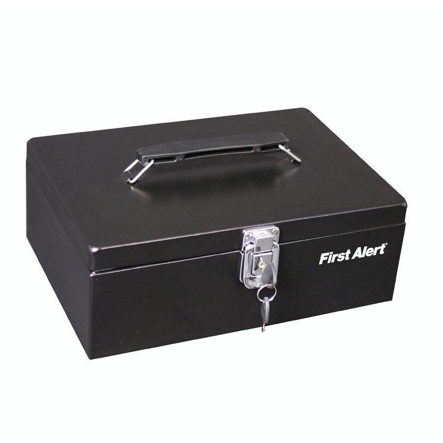 First Alert 0.24-cu ft Keyed Cash Box Safe
