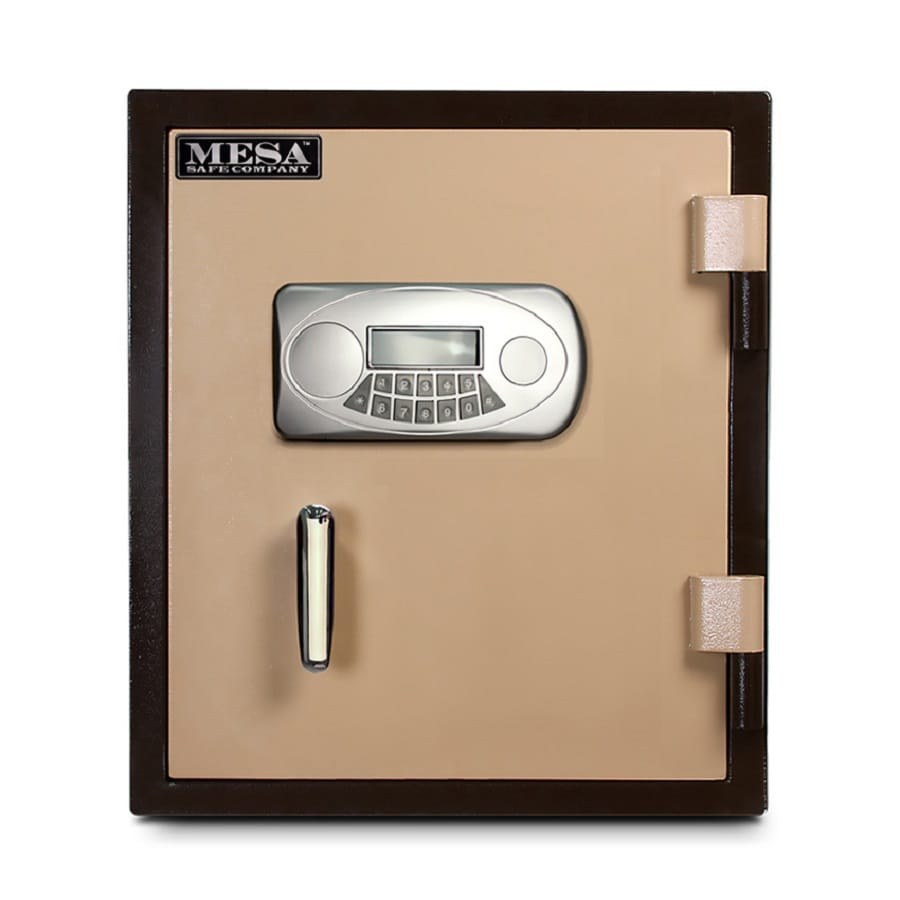 Mesa Safe Company MF 1.3-cu ft Electronic Fire Resistant Chest Safe
