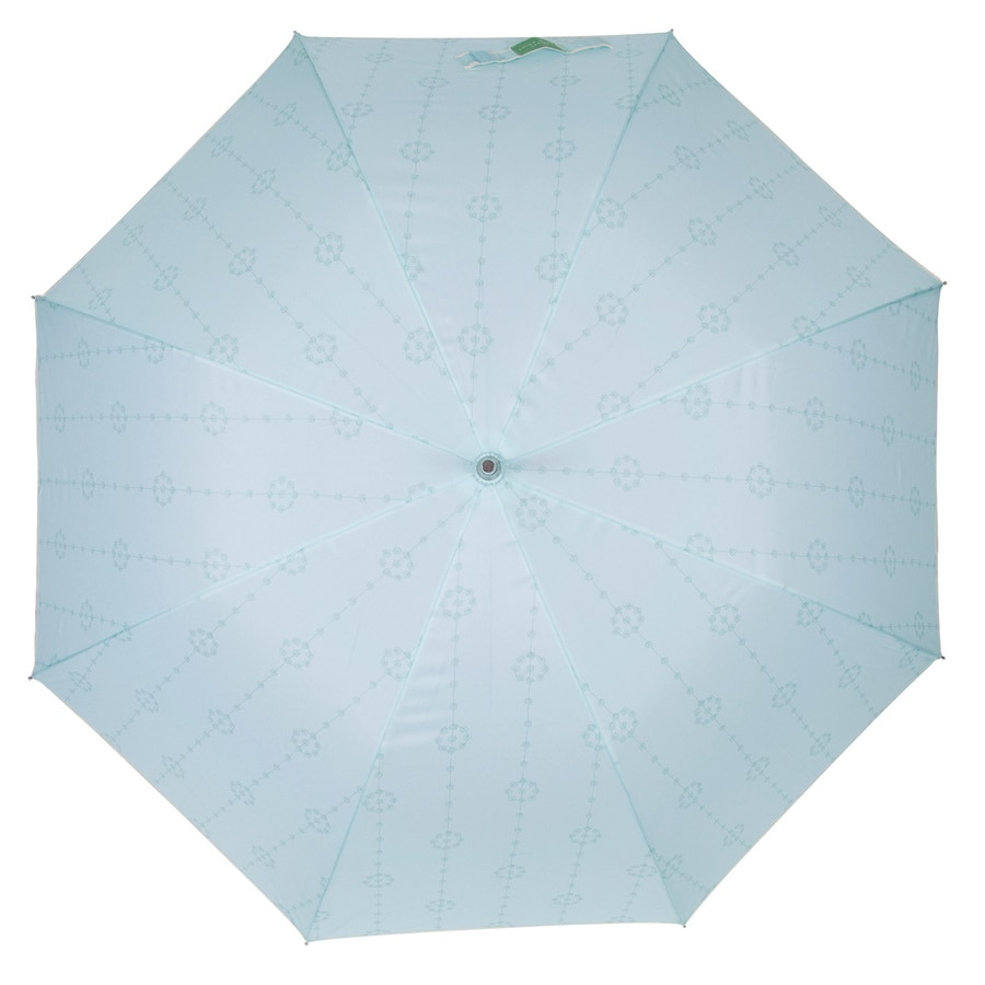Laura Ashley Garden 2-ft 3-in x 2-ft 3-in Duck Egg Round Patio Umbrella