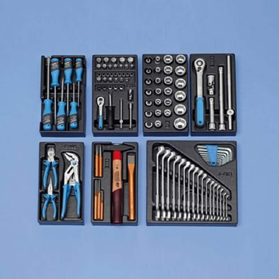 Gedore 104-Piece Household Tool Set
