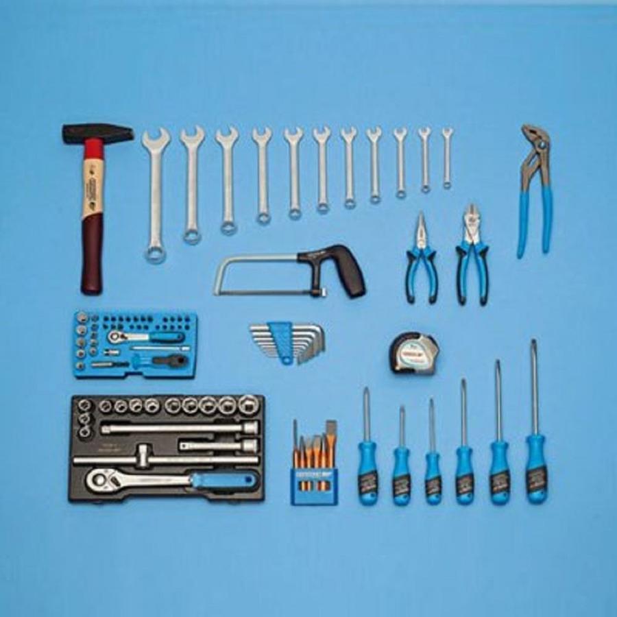 Gedore 87-Piece Household Tool Set
