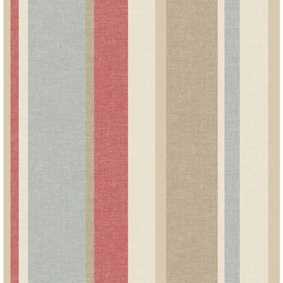 Brewster Wallcovering Taupe Strippable Non-Woven Paper Unpasted Classic Wallpaper