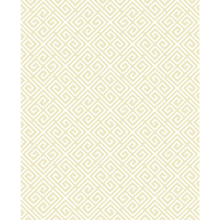 Brewster Wallcovering Gold Strippable Non-Woven Paper Unpasted Classic Wallpaper