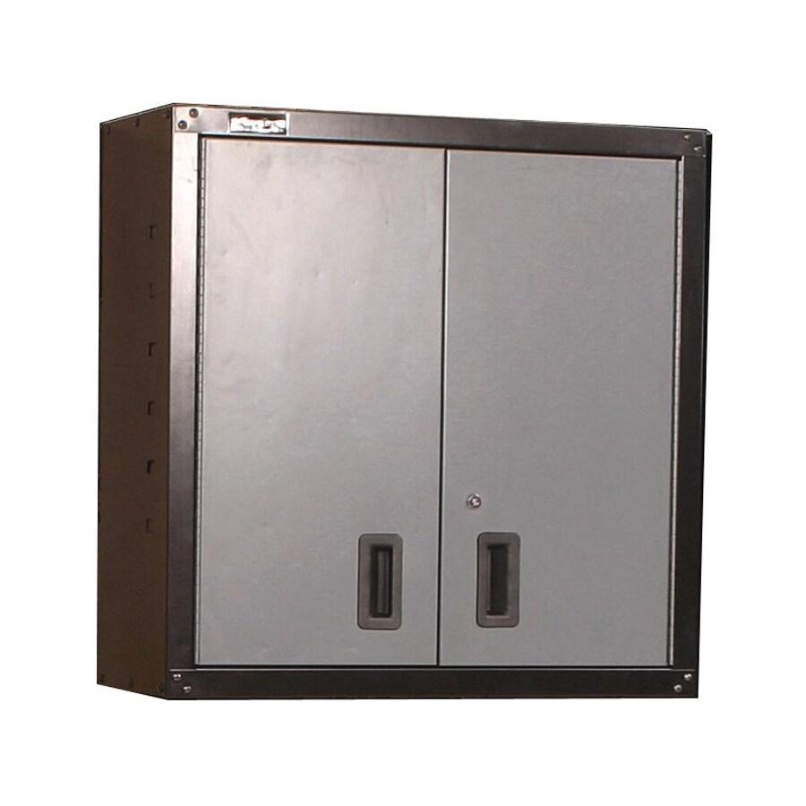 shop international tool storage gos i 30 in w x 30 2 in h x 12 in d steel wall mount garage. Black Bedroom Furniture Sets. Home Design Ideas