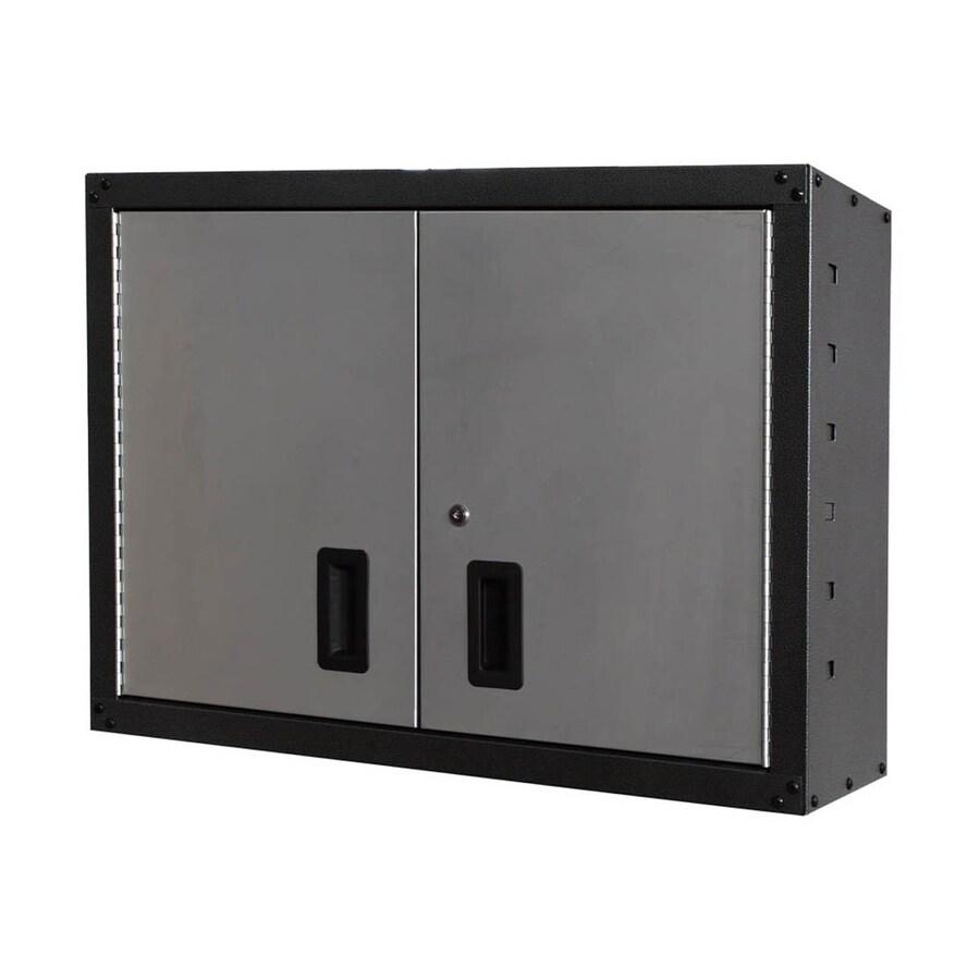 International Tool Storage GOS II 32-in W x 24-in H x 12-in D Steel Wall-Mount Garage Cabinet