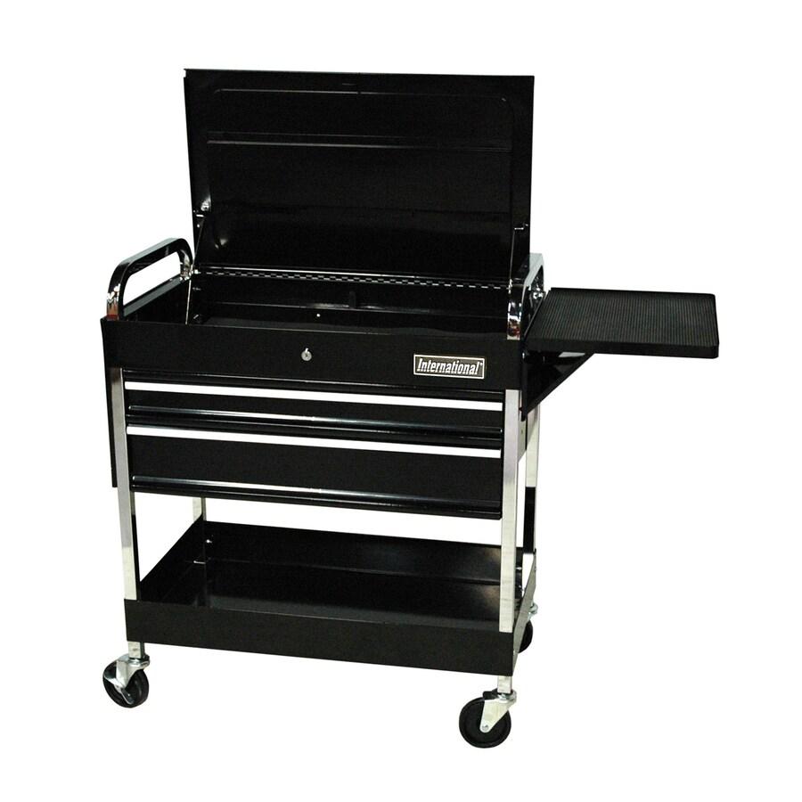 International Tool Storage 36-in 2-Drawer Utility Cart