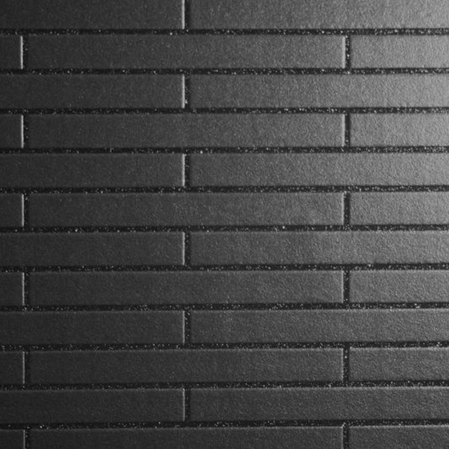 Contour Black Peelable Vinyl Unpasted Textured Wallpaper