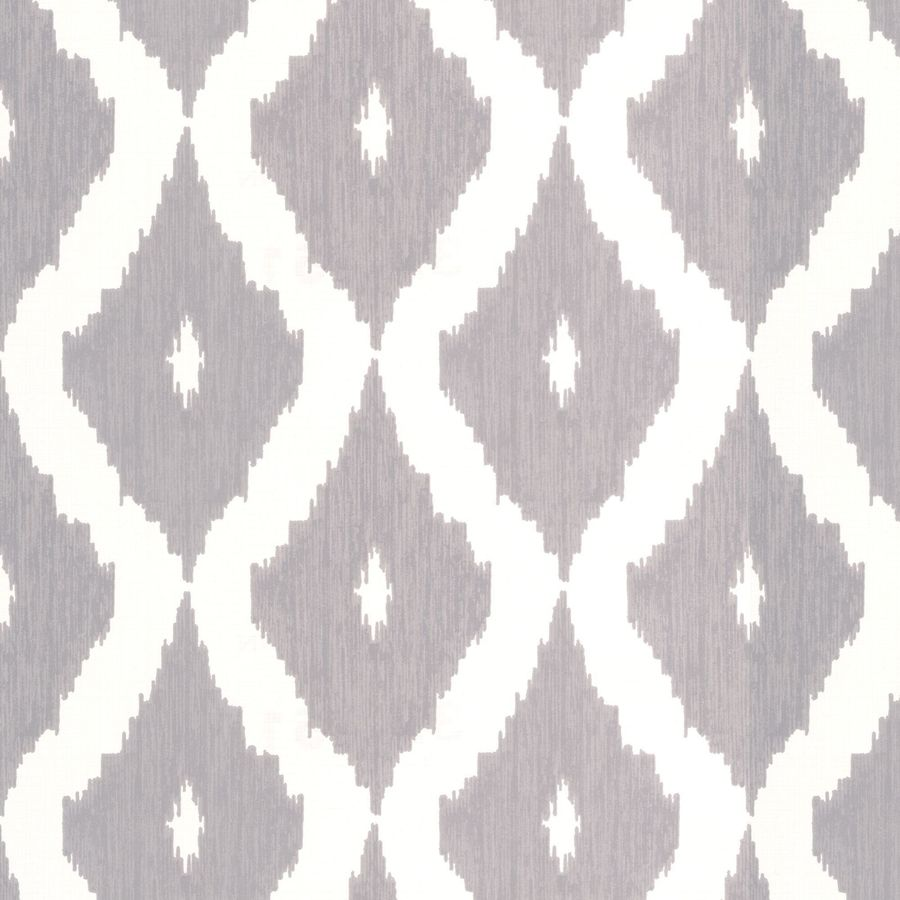 Graham & Brown Soft Grey/White Strippable Non-Woven Paper Unpasted Textured Wallpaper