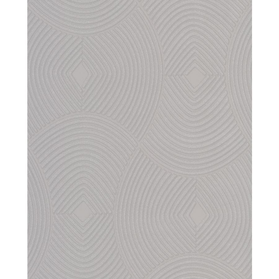 Graham & Brown Silver Strippable Non-Woven Paper Unpasted Textured Wallpaper