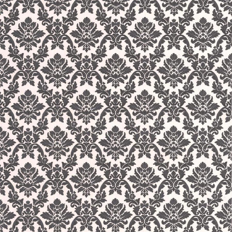 Superfresco Black/White Peelable Vinyl Unpasted Textured Wallpaper