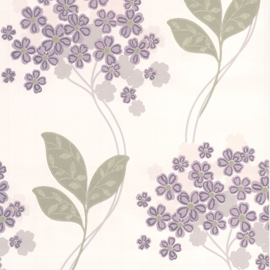 Superfresco Purple Peelable Paper Unpasted Textured Wallpaper
