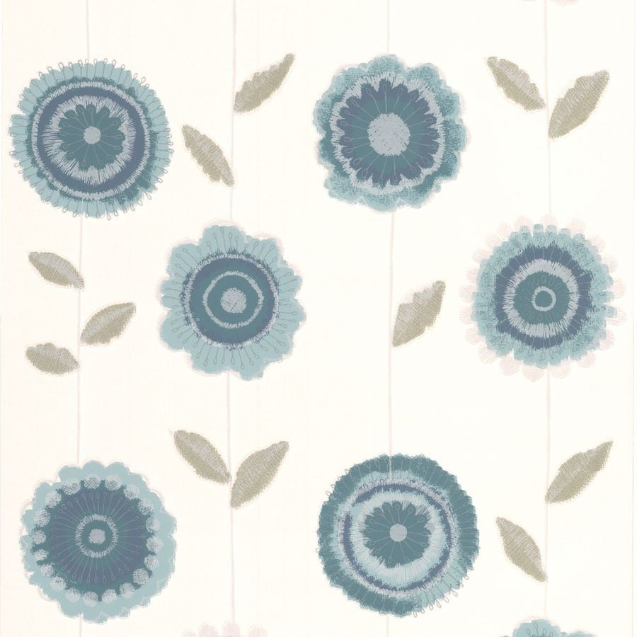 Superfresco Blue Peelable Paper Unpasted Textured Wallpaper