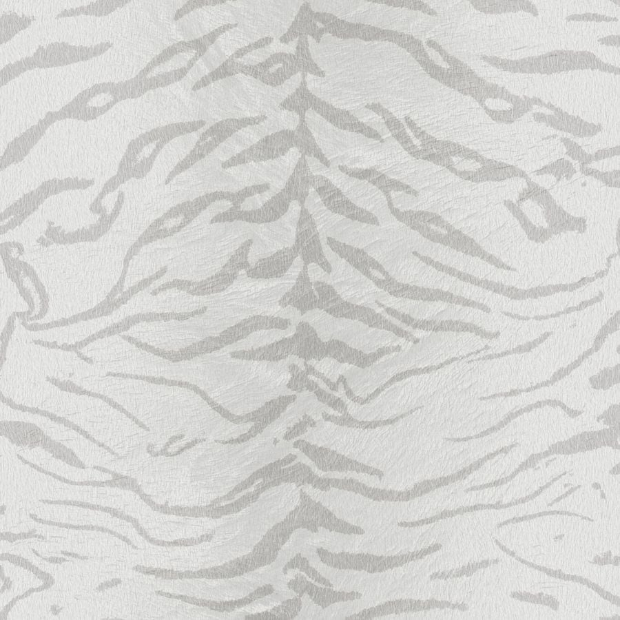 Graham & Brown White and Silver Strippable Non-Woven Paper Unpasted Textured Wallpaper