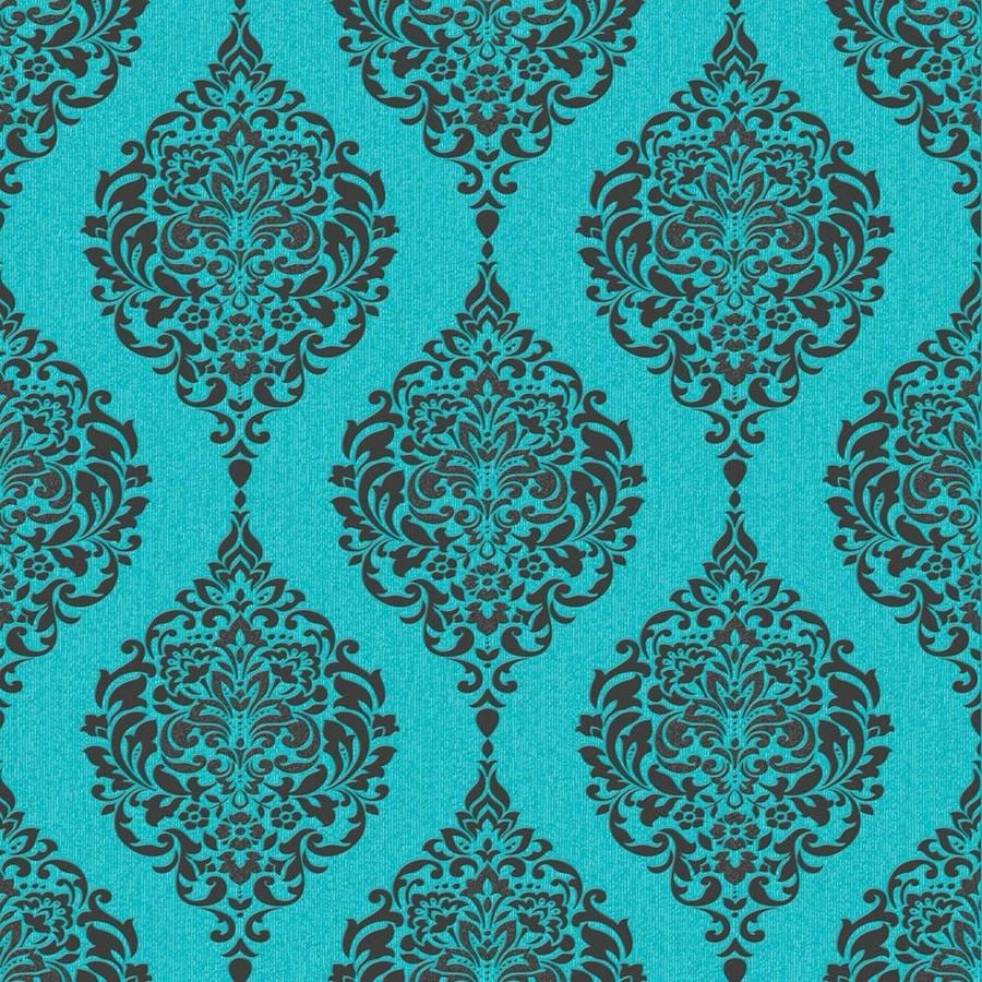 Graham & Brown Turquoise Peelable Paper Unpasted Textured Wallpaper