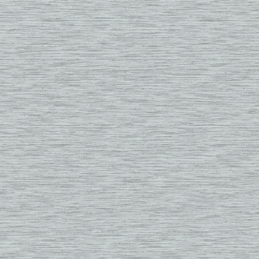 Graham & Brown Gray and Silver Strippable Non-Woven Paper Unpasted Textured Wallpaper