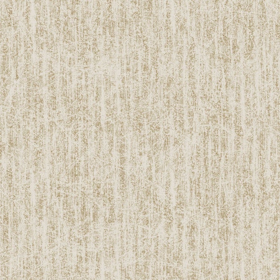 Graham & Brown Beige and Gold Peelable Vinyl Unpasted Textured Wallpaper