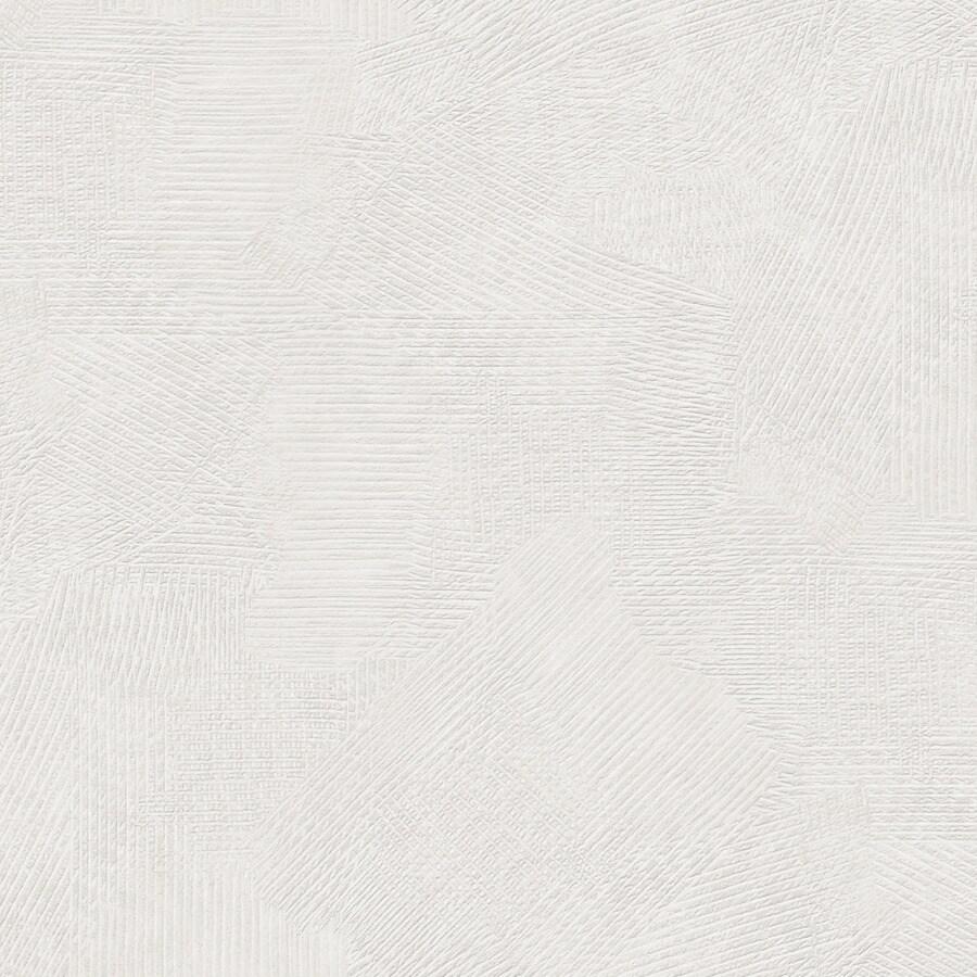 Graham & Brown White Peelable Vinyl Unpasted Textured Wallpaper