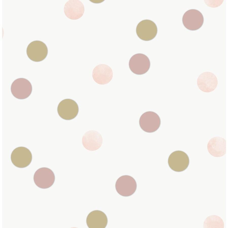 Polka Dot Contact Vinyl Paper Self Adhesive Wallpaper Roll Wallcovering