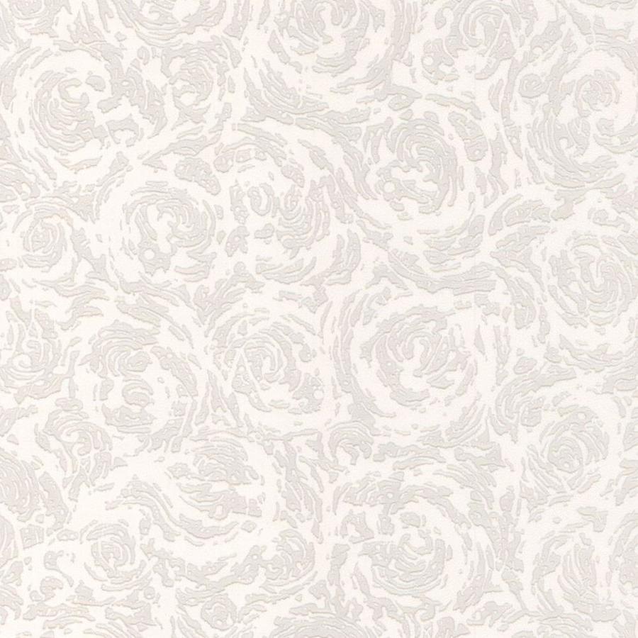 Superfresco Paintable White Peelable Vinyl Unpasted Paintable Wallpaper